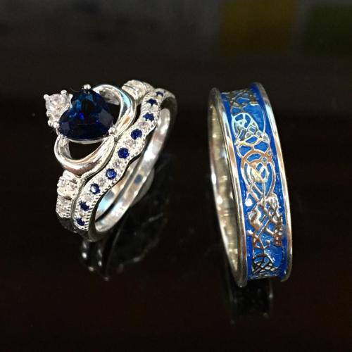 Couples Rings My Heart In Your Hands